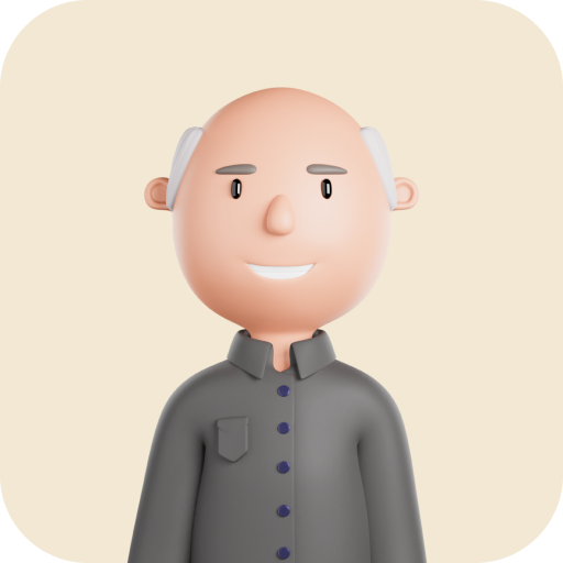 3d illustration of Malcolm Gillies